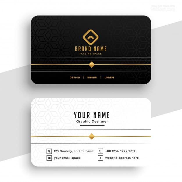 business card nail salon 9