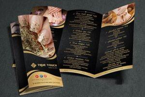 thiet ke brochure tiem nail 9