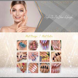 thiet ke website nail and spa 6