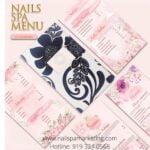 thiet ke menu tiem nail salon - 003