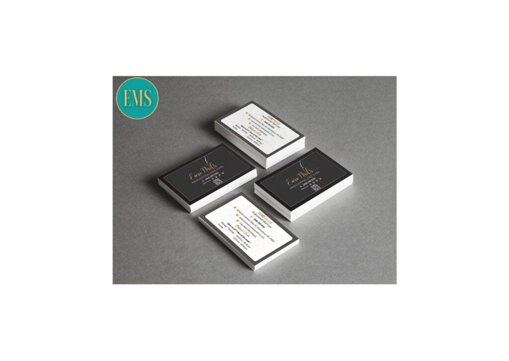 business card nail salon 3