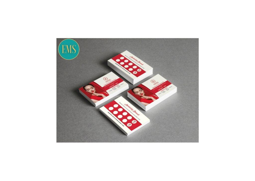 business card nail salon 2