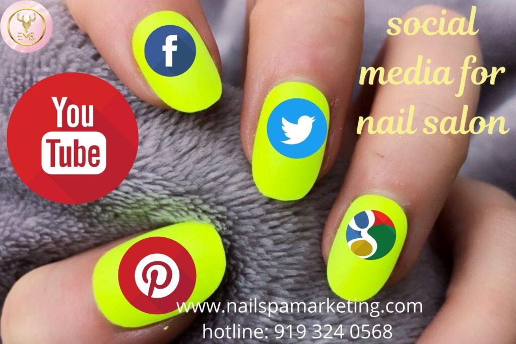 Social marketing for nail salon at Us