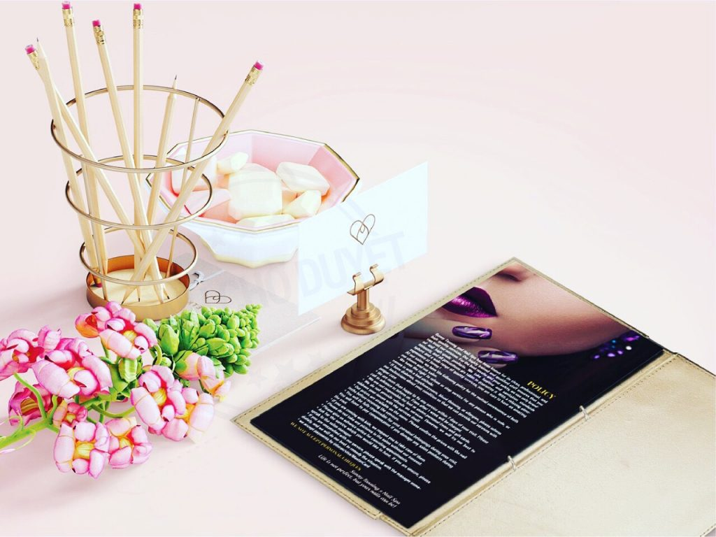 menu nail salon canada