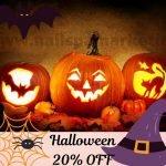 marketing nail salon dip halloween